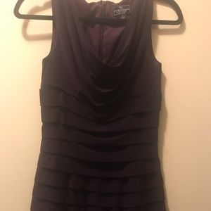 Fitted purple dress worn once!